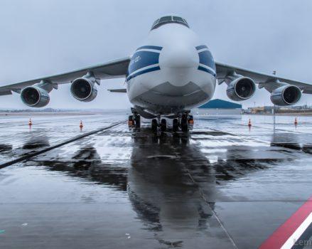AN-124-100 w Gdańsku