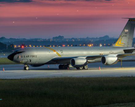 Boeing KC-135 Stratotanker w Gdańsku