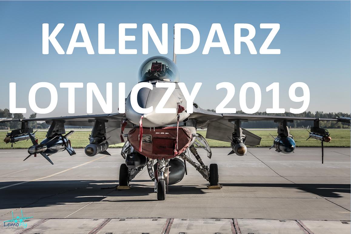 Kalendarz lotniczy 2019