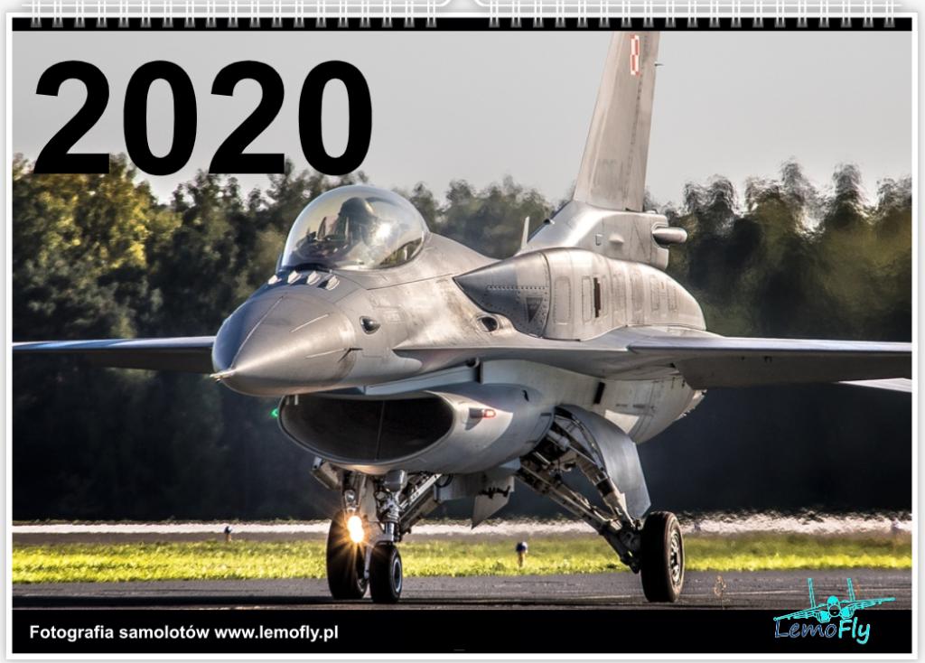 Kalendarz lotniczy, samoloty 2020