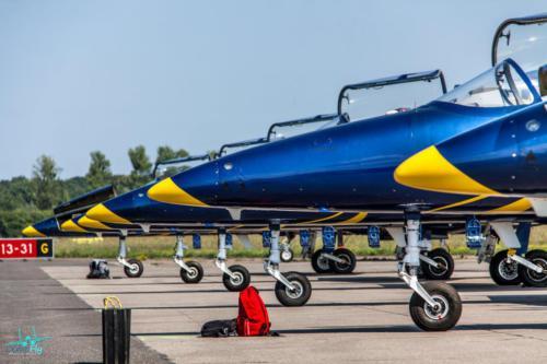 Baltic Bees Jet Team AirShow AeroBaltic Gdynia photo Marcin Huta LemoFly