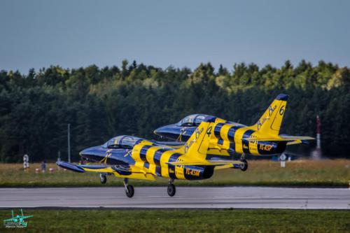 Baltic Bees Jet Team Take-Off AeroBaltic Gdynia photo Marcin Huta LemoFly