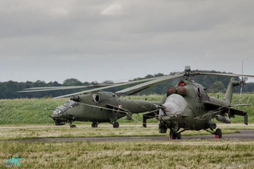 Śmigłowiec Helicopter Mi-24,  Polskie Siły Powietrzne , Polish Air Force