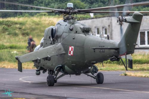 Mi-24 w 49 Baza Lotnicza Pruszcz Gdanski