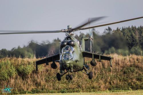 Mi-24 Helicopter PolishAirForce SilyPowietrznePolska LemoFly 1