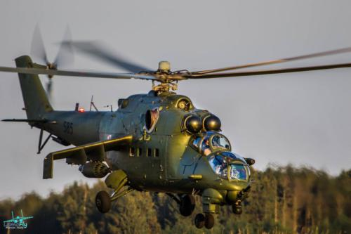 Mi-24 Helicopter PolishAirForce SilyPowietrznePolska LemoFly 4