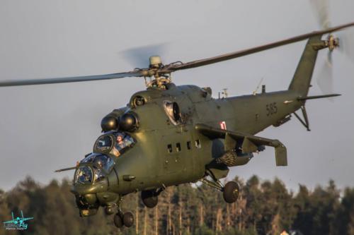Mi-24 Helicopter PolishAirForce SilyPowietrznePolska LemoFly 7