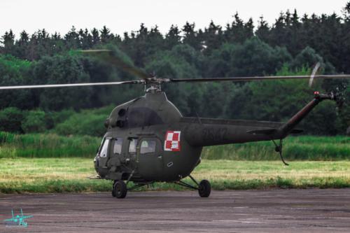 Mi-2 w 49 Baza Lotnicza Pruszcz Gdanski