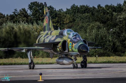 Saab AJS37 Viggen Gdynia AeroBaltic fotograf Marcin Huta LemoFly