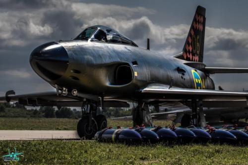Saab J 32D Lansen  Swedish Air Force Historic Flight Marcin Huta Lemofly