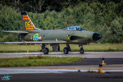Saab J 32D Lansen  Swedish Air Force Historic Flight fotograf Marcin Huta Lemofly