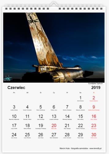 Kalendarz Lotniczy 2019 - czerwiec
